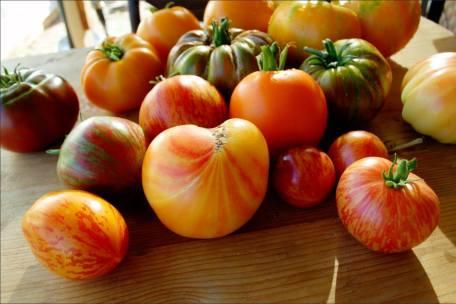 MIssion Gardens Heriloom Tomato